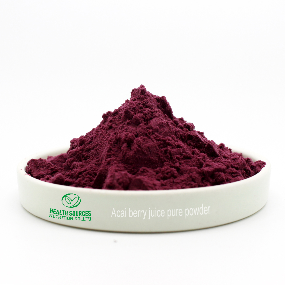 Acai berry juice pure powder